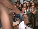 DANCING BEAR – Who Knew Women Love Big Cock This Much? Watch Them Get Blasted In The Face With Cum!