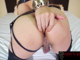 Getting His Cock In Mia's Ahole